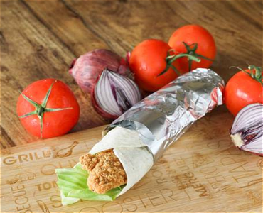 Foto Crispy chicken wrap